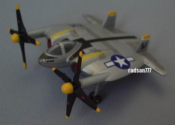 TAKARA Amazing weapons of WWII Vought XF5U Flying Flapjack USAAF Fighter  TAKARA 1:200